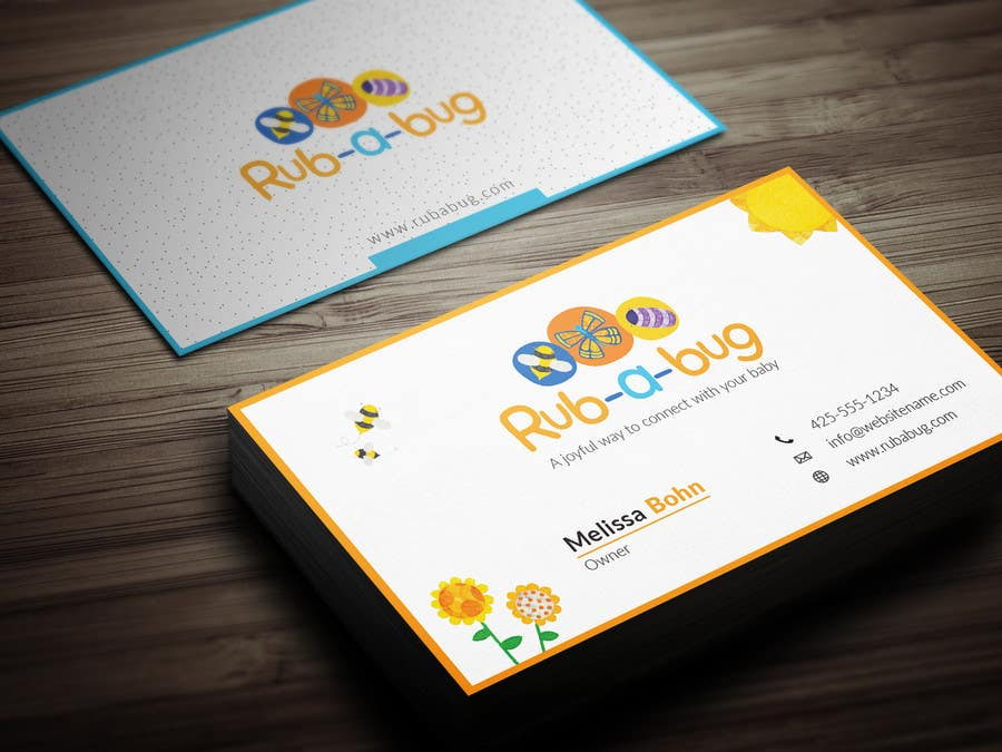 Contest Entry #                                        6                                      for                                         Design some Business Cards for Rub-a-Bug