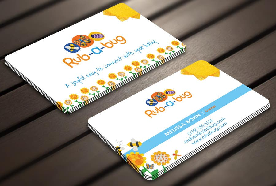 Proposition n°28 du concours Design some Business Cards for Rub-a-Bug