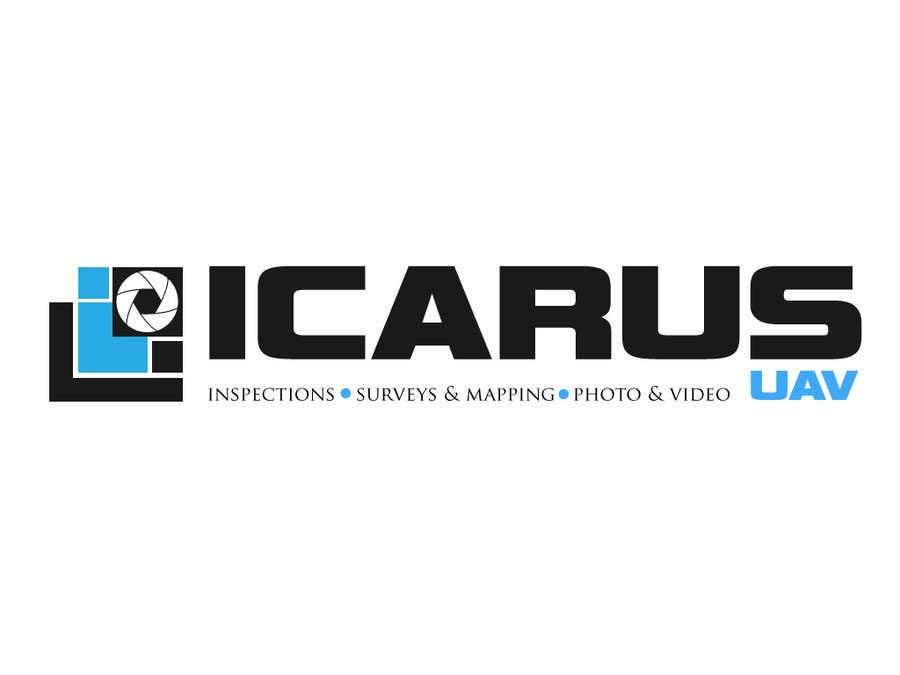 Konkurrenceindlæg #                                        26                                      for                                         Design a Logo for ICARUS UAV.COM