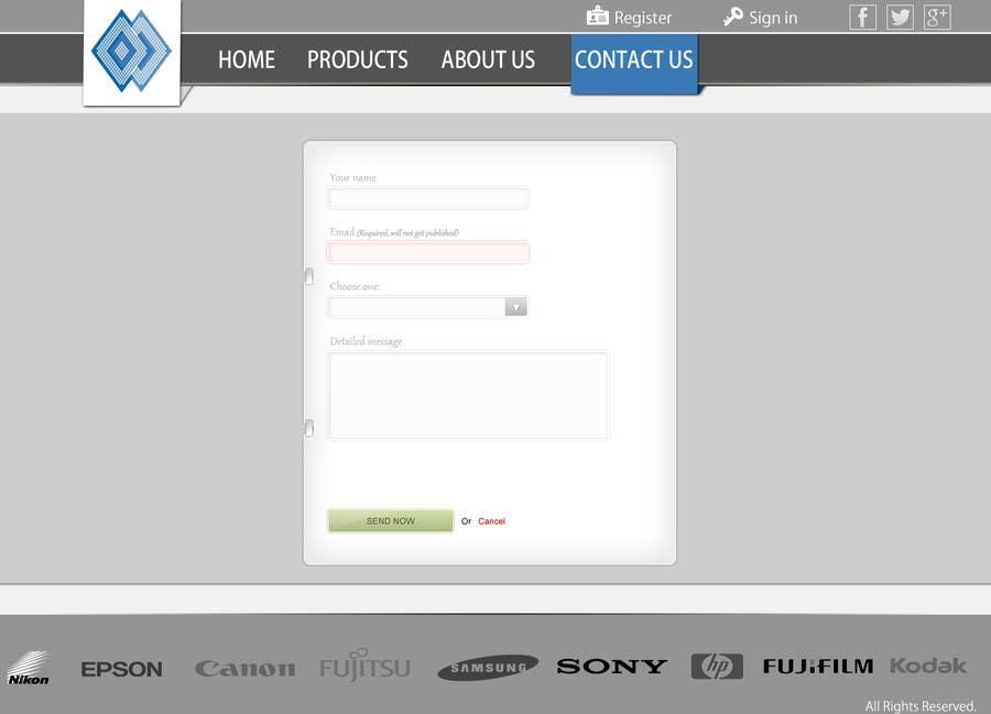 Bài tham dự cuộc thi #                                        14                                      cho                                         Design a Website Mockup