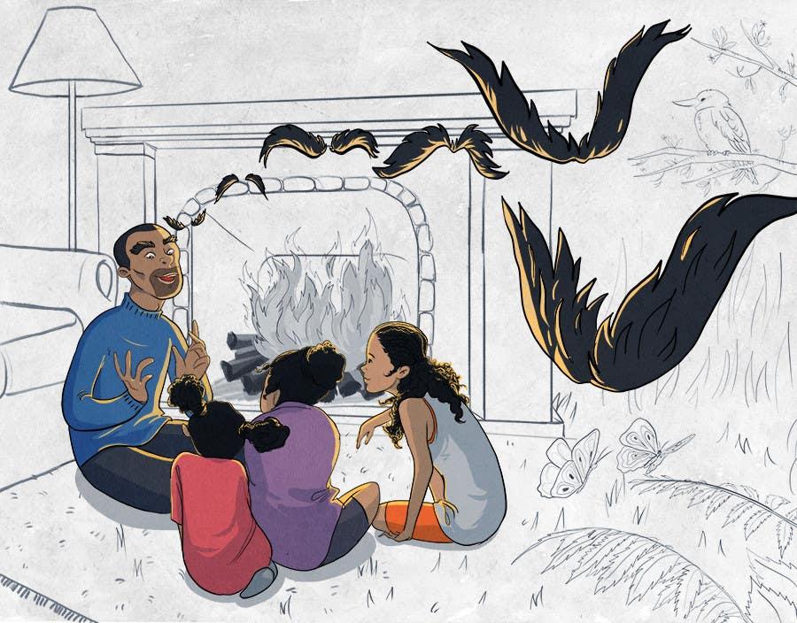 Konkurrenceindlæg #                                        6                                      for                                         Illustrate a Children's Book