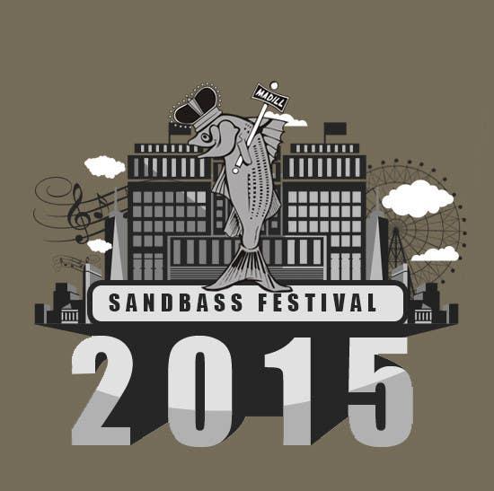 Contest Entry #                                        5                                      for                                         Design a T-Shirt for SandBass Festival