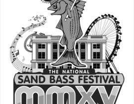 Nro 6 kilpailuun Design a T-Shirt for SandBass Festival käyttäjältä mishrapeekay