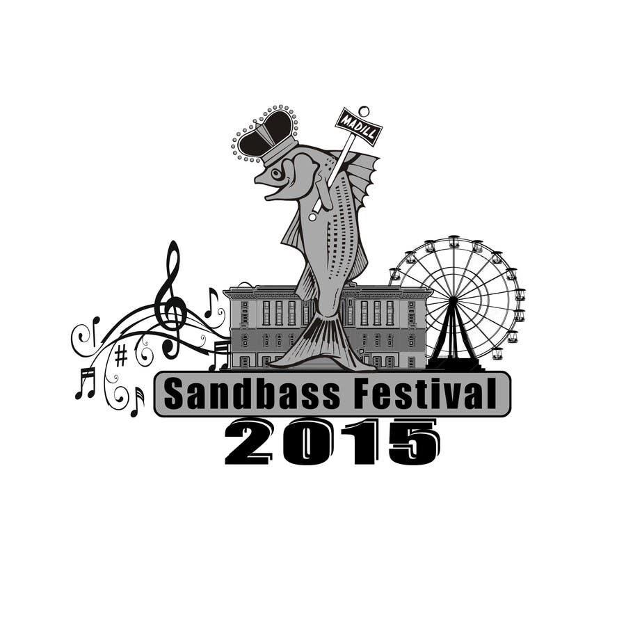 Contest Entry #                                        8                                      for                                         Design a T-Shirt for SandBass Festival