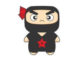 #26 para Design a logo / mascot character: adorable ninja! por TNART