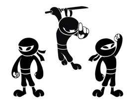 #7 para Design a logo / mascot character: adorable ninja! por peshan