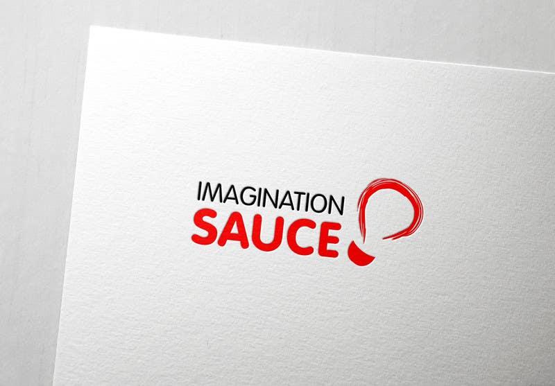 """Penyertaan Peraduan #98 untuk Design a Logo for """"Imagination Sauce"""""""