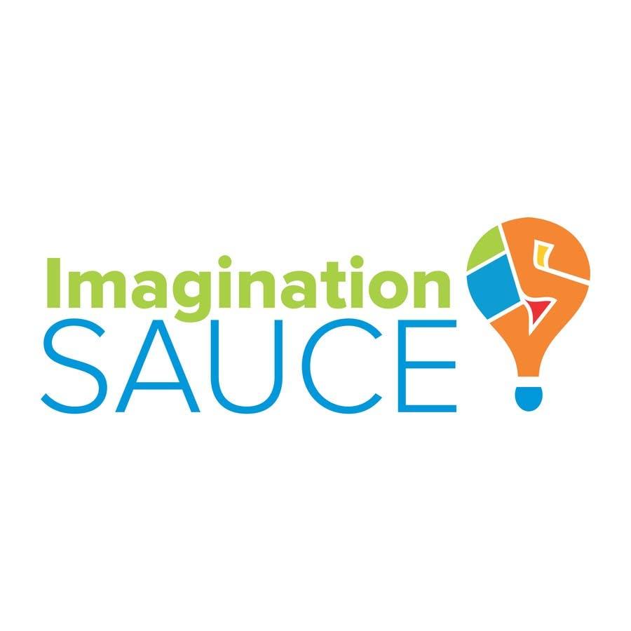 """Penyertaan Peraduan #77 untuk Design a Logo for """"Imagination Sauce"""""""