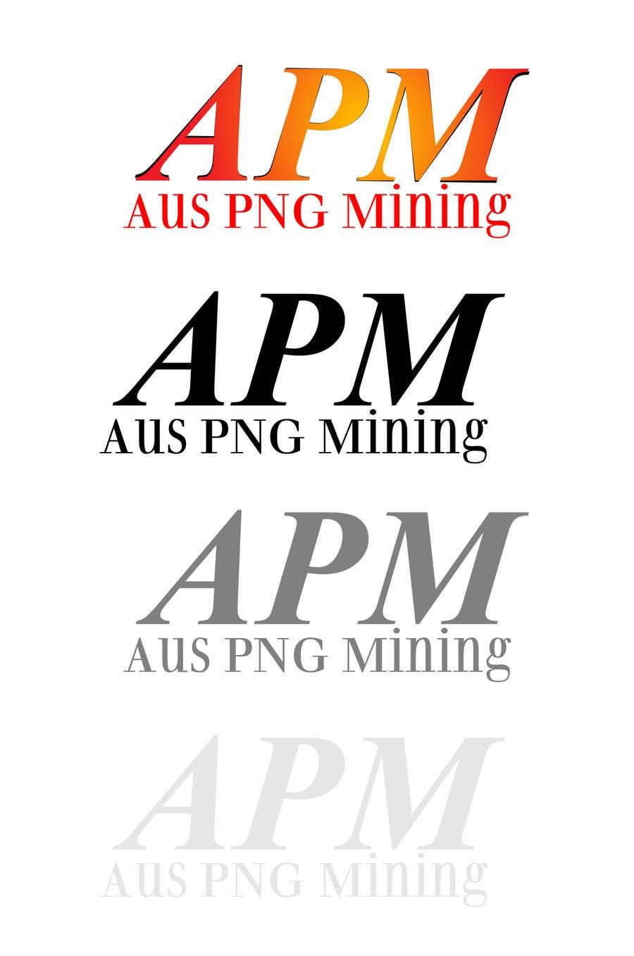 Bài tham dự cuộc thi #                                        62                                      cho                                         Design a Logo for Modern Mining Company