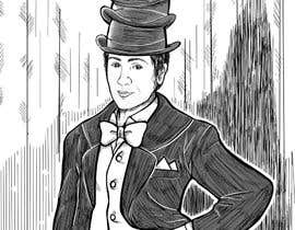 #15 for Create a Portrait Drawing of a late 19th Century Man wearing Multiple Bowler Hats af khoiruunisa