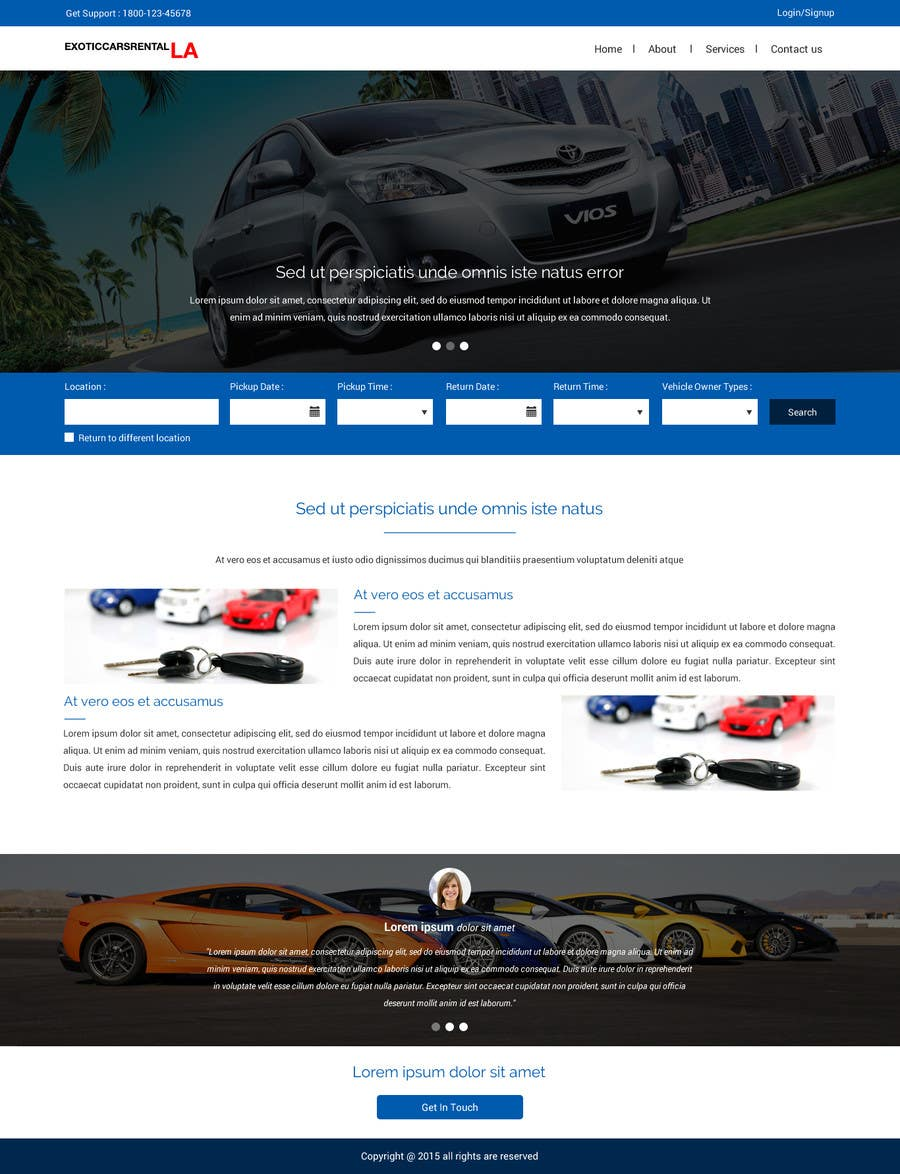 Konkurrenceindlæg #                                        7                                      for                                         Create Homepage and search Result page for my Ride Sharing Booking Engine