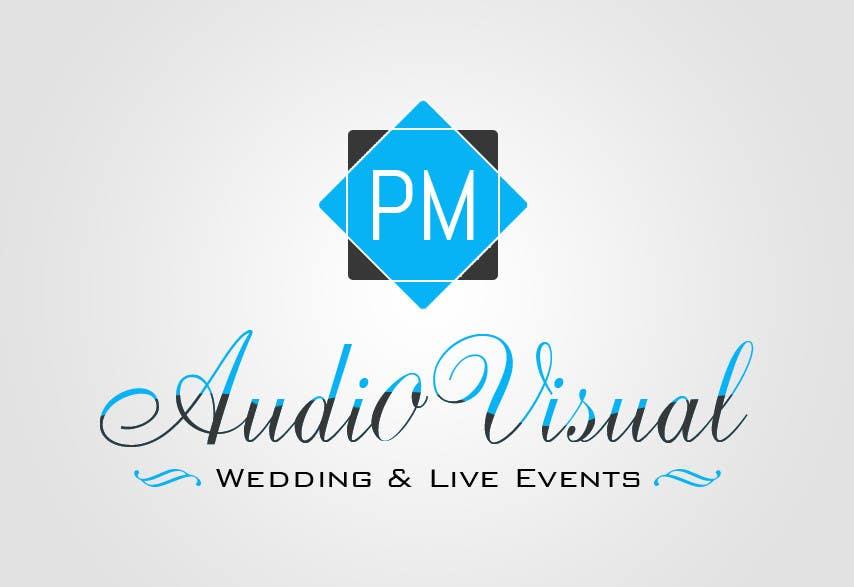 Konkurrenceindlæg #                                        19                                      for                                         Design a Logo for company named P.M. Audio Visual