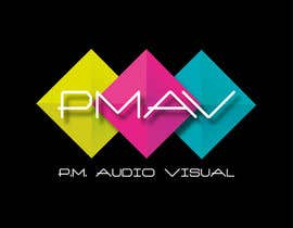 #7 for Design a Logo for company named P.M. Audio Visual by Zsuska