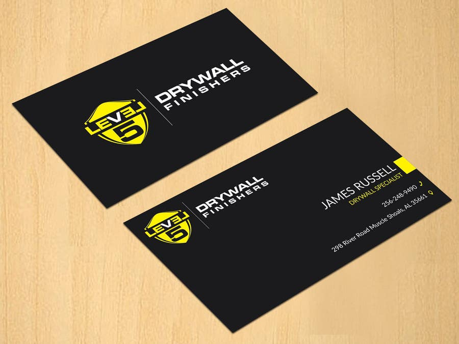 Entry #75 by dinesh0805 for Design some Business Cards for Drywall ...