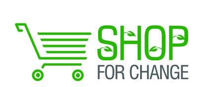 "Nro 6 kilpailuun Design a Logo for ""Shop for Change"" käyttäjältä darkavdarka"