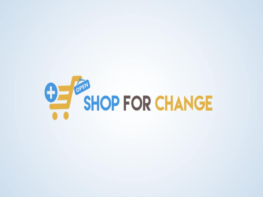 """Contest Entry #                                        46                                      for                                         Design a Logo for """"Shop for Change"""""""