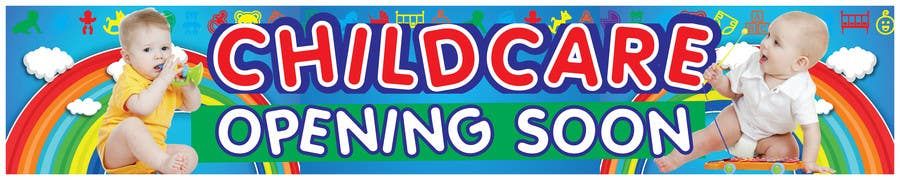 Bài tham dự cuộc thi #20 cho Design a Banner for Child Care Centre