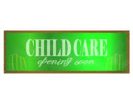 #33 for Design a Banner for Child Care Centre af sarahrosea