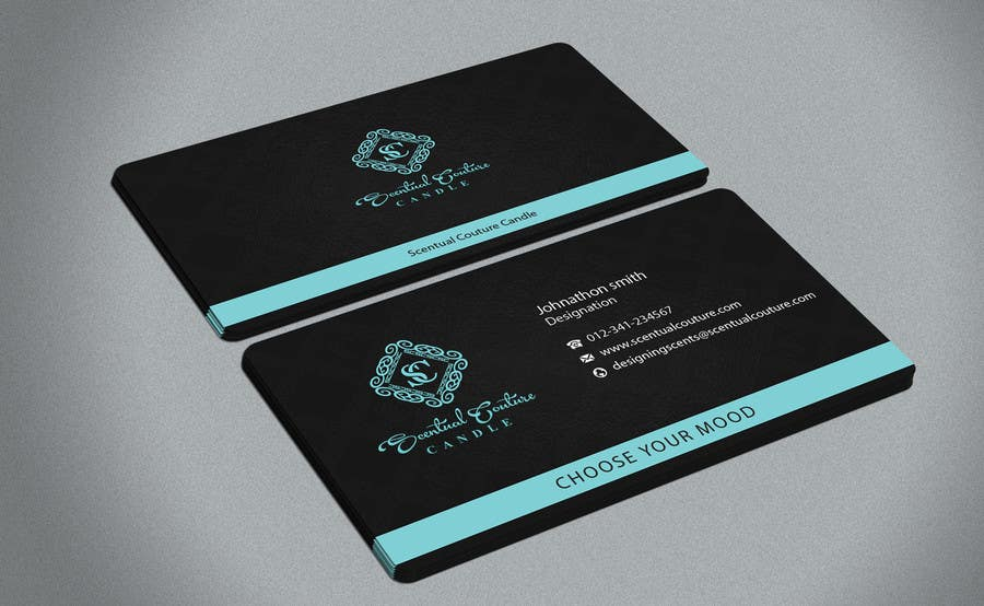 Konkurrenceindlæg #                                        30                                      for                                         Create business card for Scentual Couture Candle