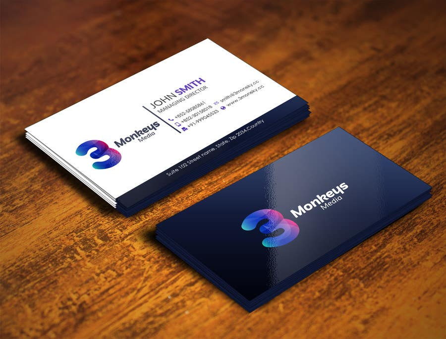 Konkurrenceindlæg #                                        48                                      for                                         One Awesome Business Card Please!