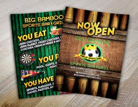 #13 untuk Design a Flyer for my sports bar oleh abudabi3