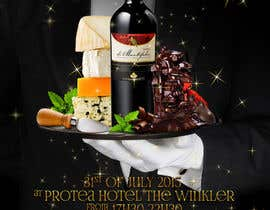 #23 for Design a Flyer for wine,cheese and chocolate show af elizewatkins