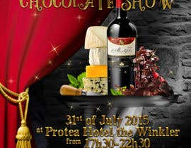 #25 for Design a Flyer for wine,cheese and chocolate show af elizewatkins