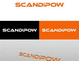 #76 para Simple and neat logo needed for ScandiPow (Title only so no extra graphics needed) por hendrikwiese