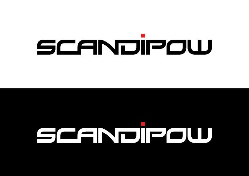 Contest Entry #                                        30                                      for                                         Simple and neat logo needed for ScandiPow (Title only so no extra graphics needed)