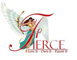 #21 for FIERCE JEWELLERY LOGO - FUN & EXCITING! - INVITING ALL DESIGNERS, CARTOONISTS & ANIMATORS - Logo Requires POLISHING, PROFESSIONAL & HIGH QUALITY - Winged Angel with Bow & Arrow by qshahnawaz