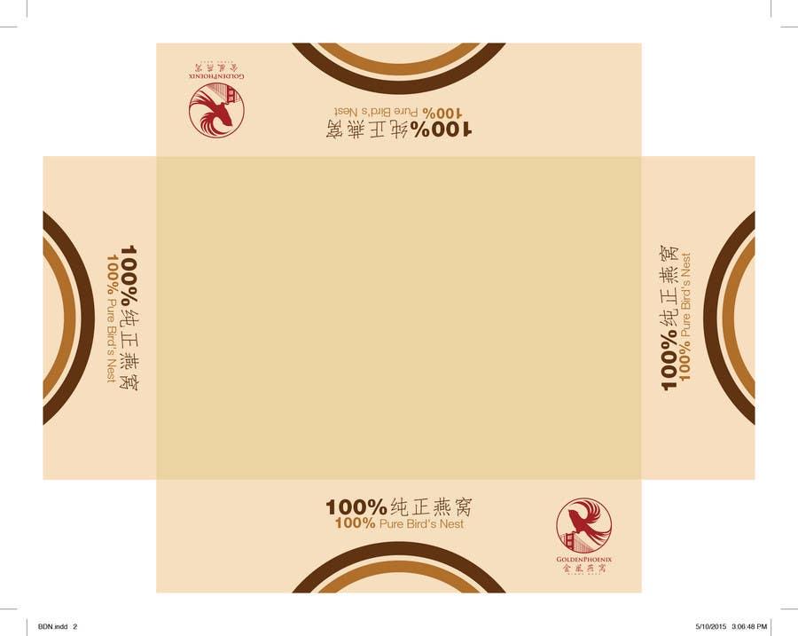 Inscrição nº 9 do Concurso para Create Print and Packaging Designs for Wholesale Edible Bird's Nest Packaging