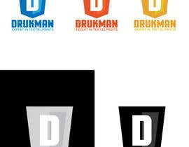 Redbrock tarafından Ontwerp een Logo for a new company in screenprinting DRUKMAN için no 23