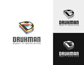 dondonhilvano tarafından Ontwerp een Logo for a new company in screenprinting DRUKMAN için no 44