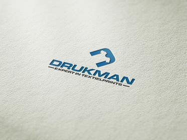 #46 for Ontwerp een Logo for a new company in screenprinting DRUKMAN af affineer