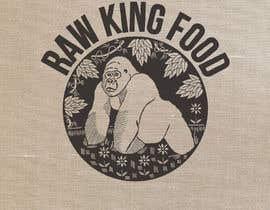 nº 133 pour RawKing Foods Gorilla Design par manakiin