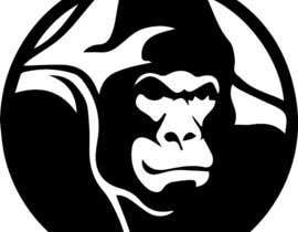 #44 for RawKing Foods Gorilla Design by Saadyarkhalid