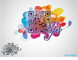 #39 for QR Code Logo for Freelancer af arunbluez