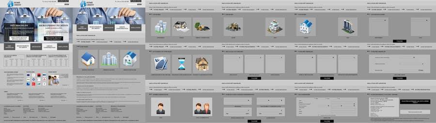 Konkurrenceindlæg #8 for I need Mockup for Website for Home Credit
