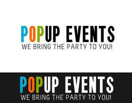 #24 cho Design a Logo for Popup-Events bởi ryreya