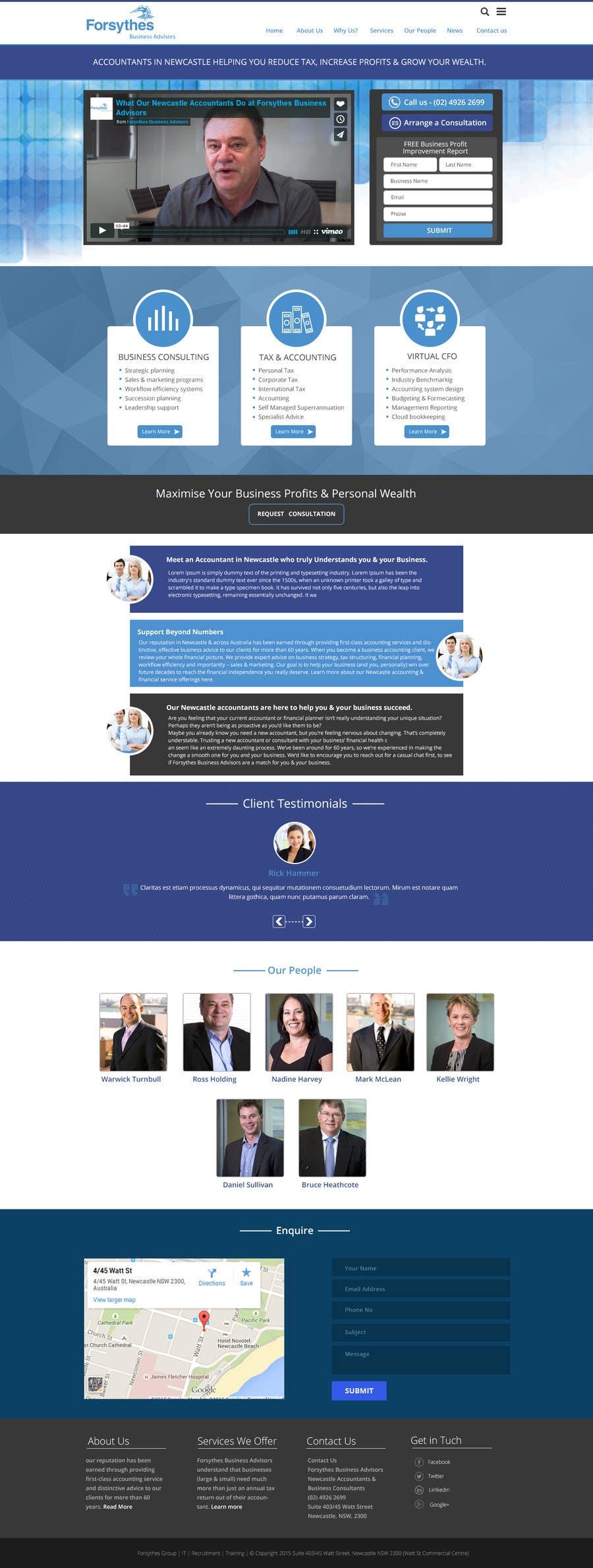 Konkurrenceindlæg #                                        11                                      for                                         Home Page Design & Implementation