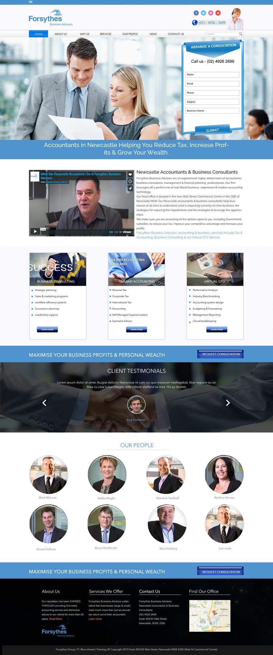 Konkurrenceindlæg #                                        8                                      for                                         Home Page Design & Implementation