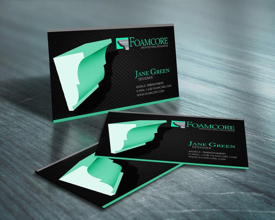 Inscrição nº 5 do Concurso para Foamcore Mouldings Card Design