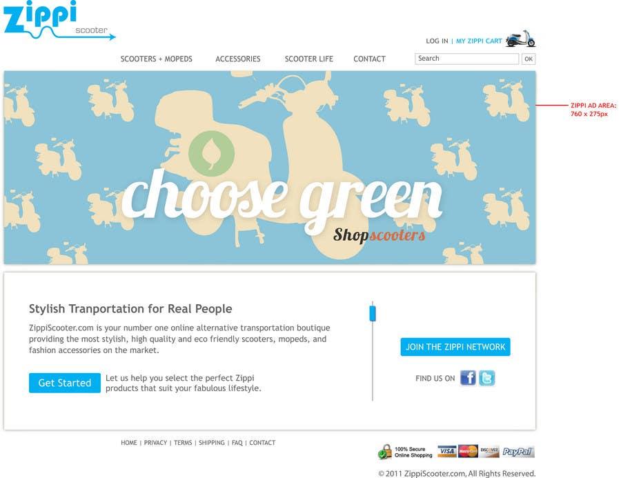 Konkurrenceindlæg #                                        54                                      for                                         ZippiScooter.com Ad Campaign