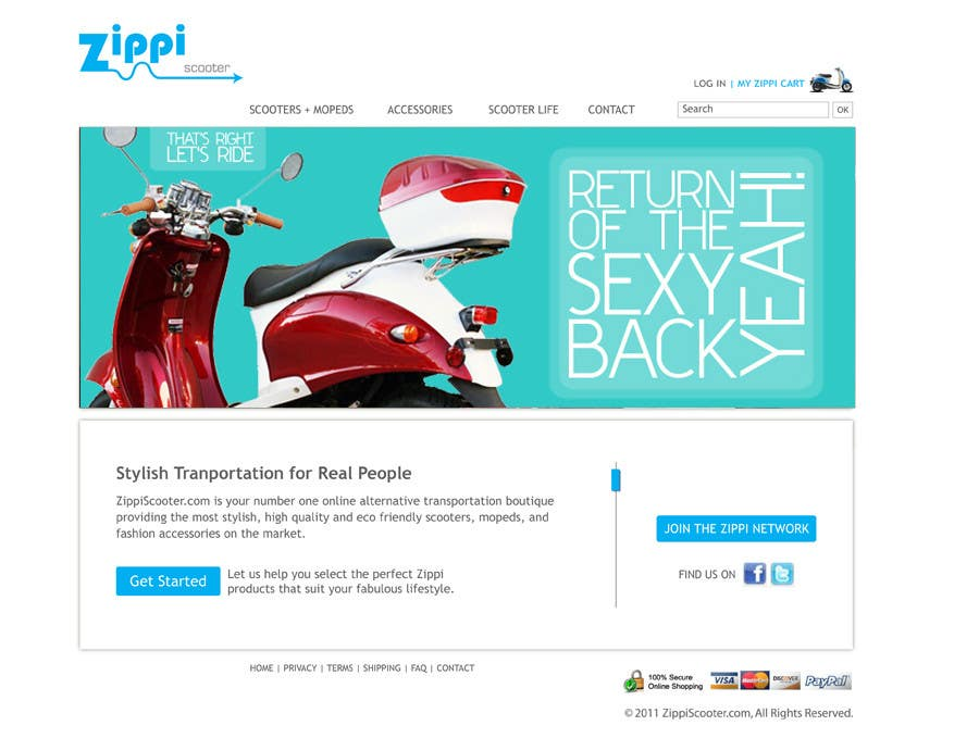 Konkurrenceindlæg #                                        57                                      for                                         ZippiScooter.com Ad Campaign