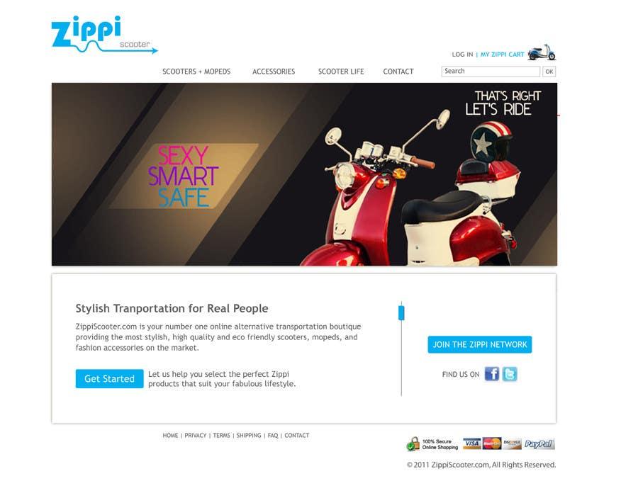 Konkurrenceindlæg #                                        51                                      for                                         ZippiScooter.com Ad Campaign