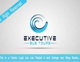 nº 72 pour Design a Logo for Executive Bus Tours par LushDesigner