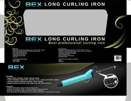 #22 for Create Print and Packaging Designs for Curling Iron BOX by Cobot