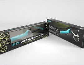 #25 para Create Print and Packaging Designs for Curling Iron BOX por Cobot