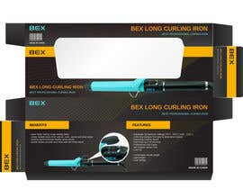 #2 para Create Print and Packaging Designs for Curling Iron BOX por karanjapaul60