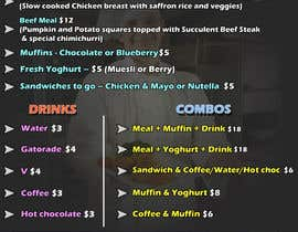 #13 cho Design Menu for a two day bodybuilding event bởi baenajesus75